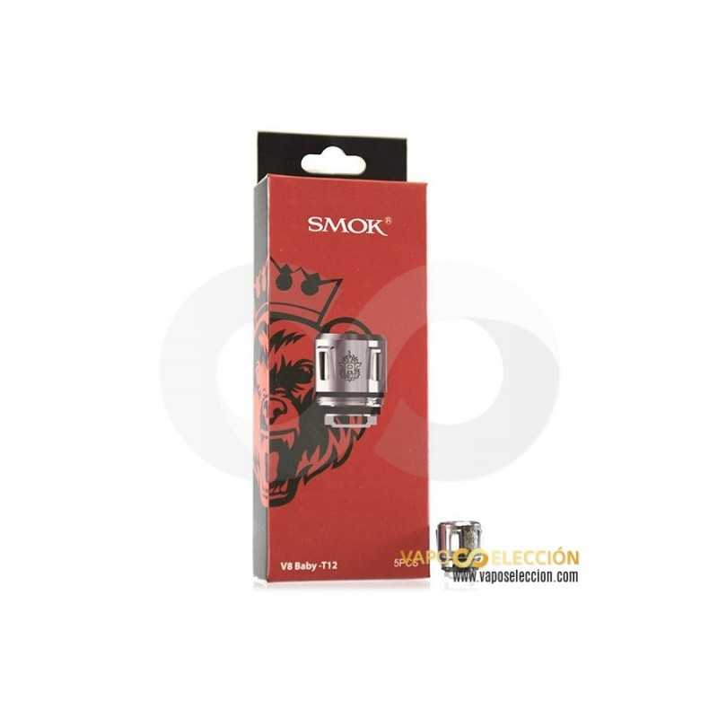 SMOK TFV8 V8 BABY-T8 OCTUPLE COIL PACK 5 UDS.
