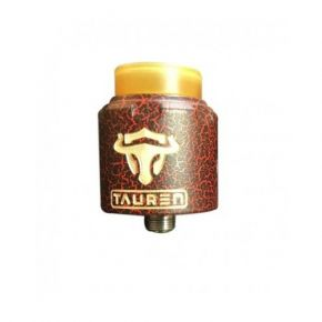 TAUREN RDA BLACK/RED CRACKED THUNDERHEAD