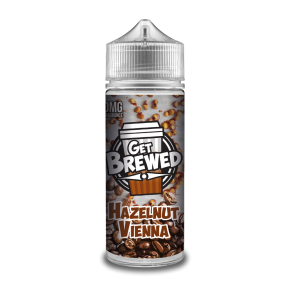 HAZELNUT VIENNA BY GET BREWED 0MG SHORTFILL 100ML
