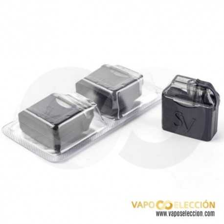 SMOKING VAPOR MIPOD REPLACEMENTS PACK 2 UDS.